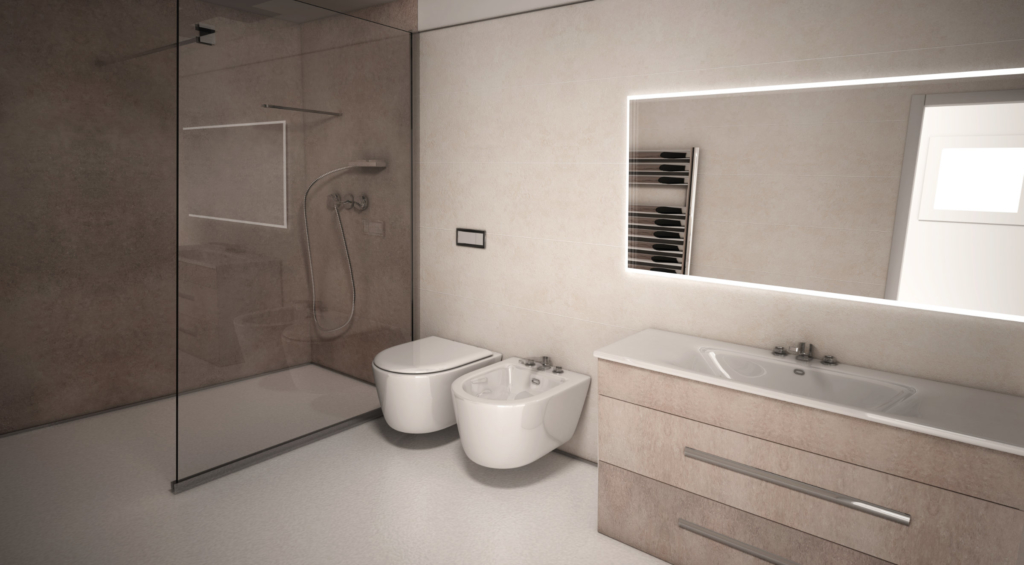 Pannelli rivestimenti decorativi da muro e pareti interni bagno